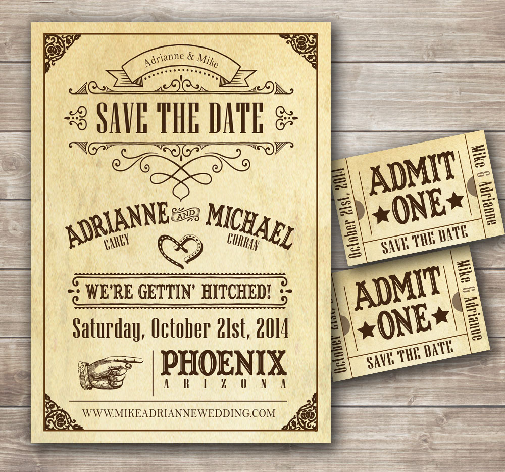 Western Wedding Invitations: Modal Verb Would: Invitations Using The Forms And Common